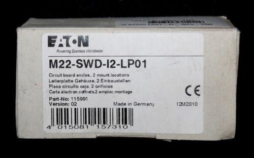 EATON M22 SWD I2 LP01 SWDT PCB Double Mount PC Circuit Board 115991 Version: 02