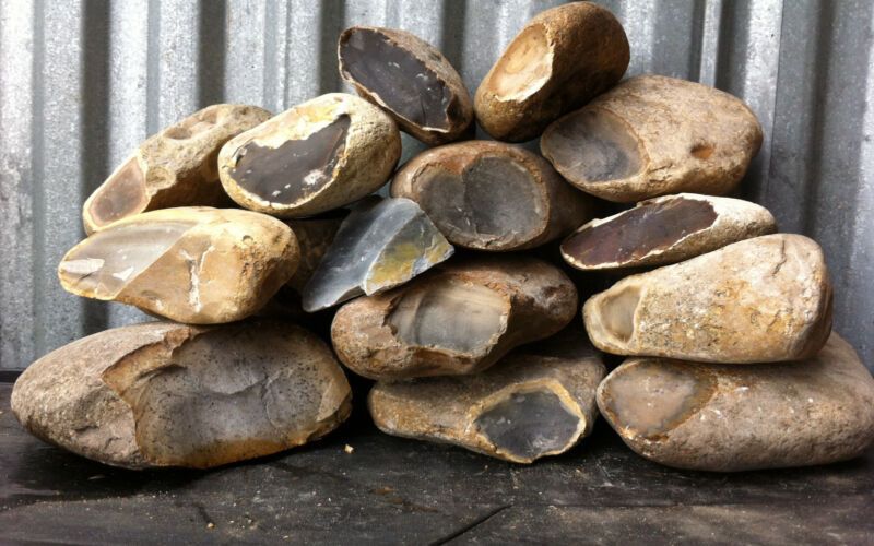 22 Lbs. Texas PRIMO THIN Chert Flint Knapping Flintknapping Material Arrowheads
