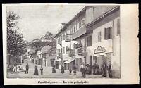 Casalborgone Xilografia La Via Principale - Le Cento Citta' D' Italia 1899 -  - ebay.it