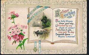 WILDT & KRAY POSTCARD BIRTHDAY GREETINGS WEST BROMWICH 1911