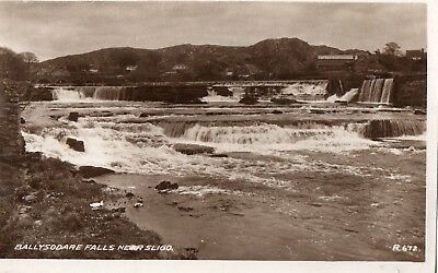 BALLYSODARE FALLS NEAR SLIGO IRELAND RP VALENTINES IRISH POSTCARD No. R672