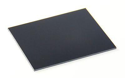 "Polystone M plastic with repro content5//8/"" x 8.5/"" x 11/"" Black UHMW PE *"
