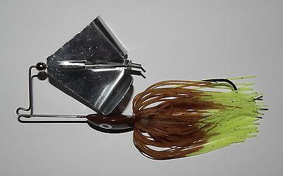 "-Bass Fishing-Bass 1 Chartreuse 1//2 Oz Custom Topwater Buzzbait Lure- /""NEW/"""