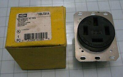 Hubbell 7301 60 Amp 120208 Volt Receptacle Single Outlet Nema 18-60r