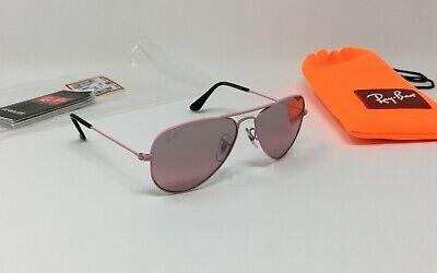 Ray-Ban AVIATOR JUNIOR RJ9506S 211/7E Girls' Pink Sunglasses PINK GRADIENT (Ray Ban Girl Sunglasses)