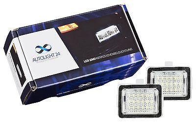 LED Kennzeichenbeleuchtung für Mercedes C-Klasse W204 S204 Limo T-Modell  203