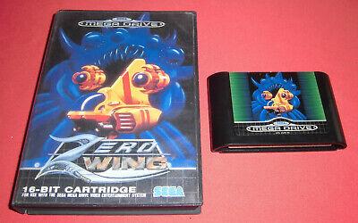 Megadrive 1 & 2 Zero Wing [PAL-Fr] Original Sega Rare *JRF*