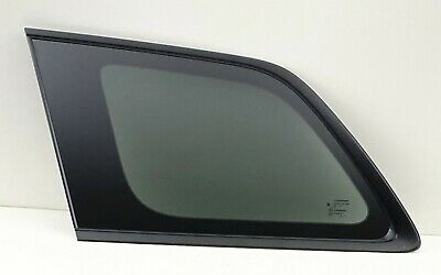 Fits 16-19 Jeep Grand Cherokee Driver Left Side Quarter Window Glass Black OE