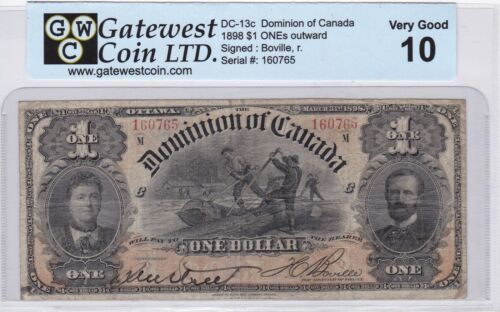 DOMINION OF CANADA 1898 $1