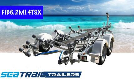 New Seatrail 6.2M Tandem Rollered Boat Trailer Hemmant Brisbane South East Preview