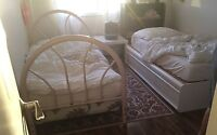 Free - 2 single bed frames