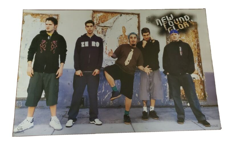 Funky Posters # 6591 New Found Glory BAND PINUP POSTER LISA JOHNSON PHOTO