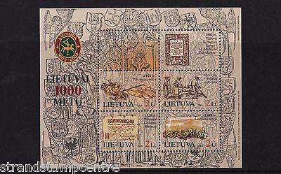 Lithuania - 2005 Lithuania Millenary - U/M - SG MS862