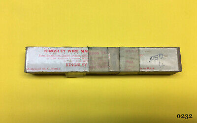 Kingsley Machine Type - Dsa-xc .050 Wire Marking Type - Hot Foil Stamping