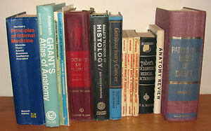 Basic but extensive medical library - 14 volumes