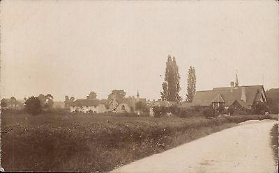Taunton photo. Church, School & Lane by W.A.Crockett, Taunton.
