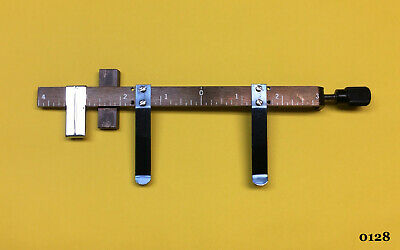 Kingsley Machine - 7-inch Billfold Gauge Bar Clip - Hot Foil Stamping Machine