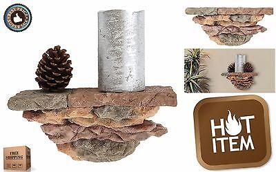 Modern Rock Design Wall Mount Floating Shelf Faux Stone (Faux Stone Shelf)