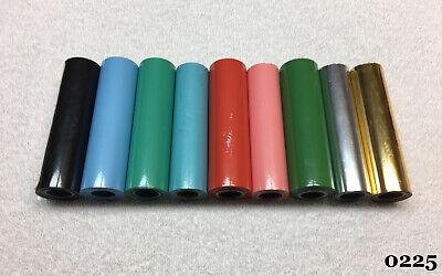 Kingsley Machine - 9-new 4-inch Foil Rolls - Hot Foil Stamping Machine