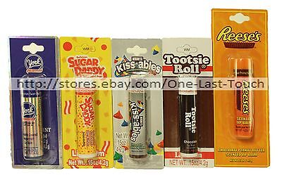LOTTA LUV* Lip Balm CHOCOLATE CANDY Scented Gloss CARDED New! *YOU CHOOSE* 1b