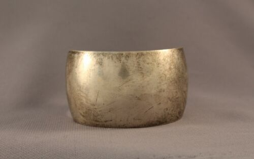 Old Pawn Navajo Silver Bracelet  Signed S.CLY