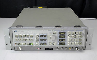 As-isparts - Agilent Hp 8566b Spectrum Analyzer 100 Hz-2.5ghz