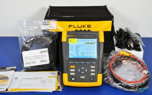 Fluke 438 Series II Power Quality and Motor Analyzer - NIST Calibrated PQA