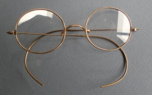 Antique Gold Filled Spectacles - superb condition.