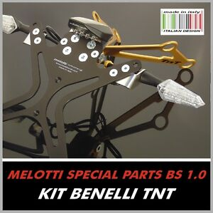 Fender Eliminator for BENELLI TNT / CAFE RACER - SPECIAL TUNING KIT - Adjustable