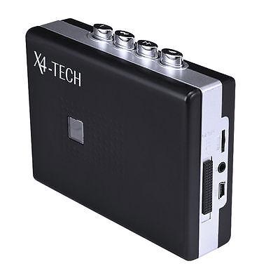 X4-TECH SkyWalker II USB - Portabler Kassettenspieler und MP3 Digitalisierer