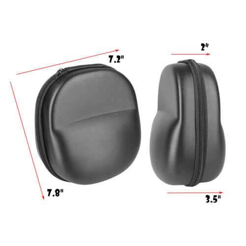Carrying Hard Case for Over-Ear Full size Headphones Headset New