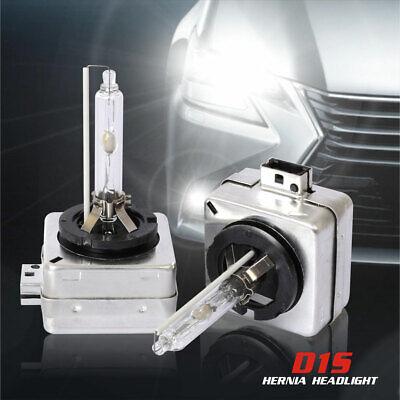 Pair 35W D1S D1R 6000K Car Xenon HID Headlight Bulbs Auto Lamp LED Bulbs AC 12V