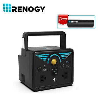 Renogy PHOENIX 100 300 Portable Pure Sine Wave Station W/Free 2500mAh Power Bank