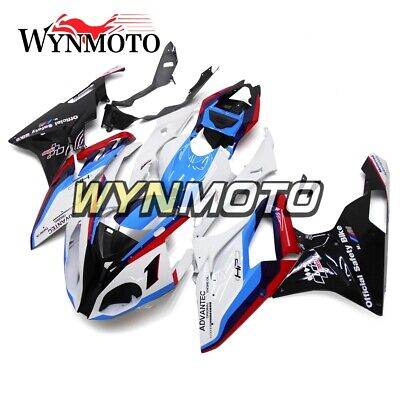 For BMW S1000RR 2015 2016 Sky Blue White Red ABS Injection HP Fairing Body Kits
