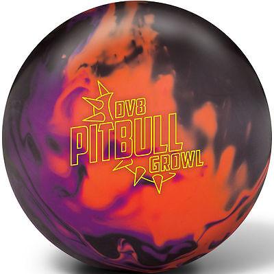DV8 Pitbull Growl 15LB Bowling Ball New Big Hook 1st Quality