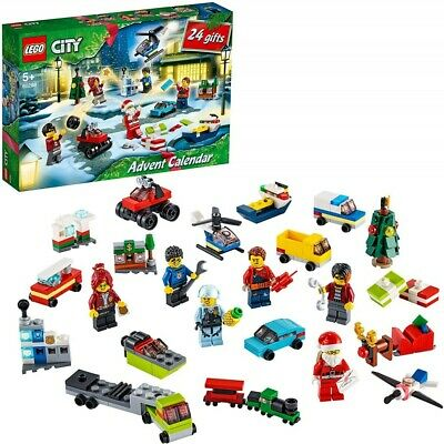NEW LEGO City Advent Calendar 60268 Toys Children 10851399 plastic 5702016617542