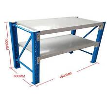1.5X0.9M Steel Garage Warehouse Rack Workbench Shelving Workbench Nunawading Whitehorse Area Preview