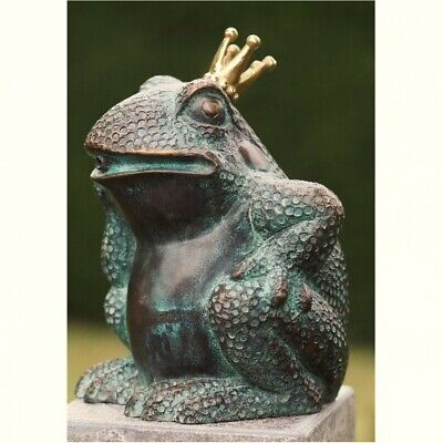 Gargoyle Frog Prince from Bronze Water Feature Frog King Frogs BOAN-1323