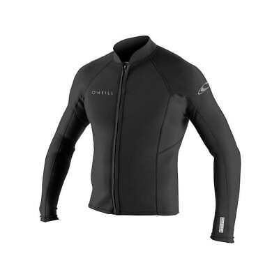 O'Neill | 2mm Reactor 2 L/S Front Zip Neoprene Jacket | Sizes M & XL | Black