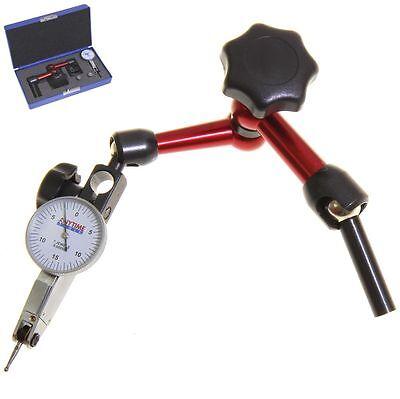 Uni Mill Center Positioner Test Indicator 0-15-0 3d For Mill Flexible Holder