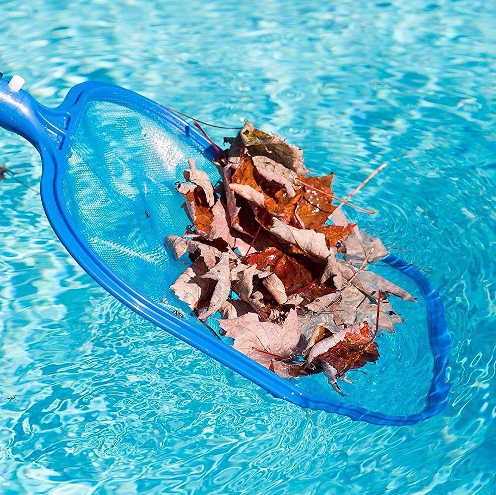 Pool Leaf Skimmer Rake Net Clean Swimmming Heavy Duty