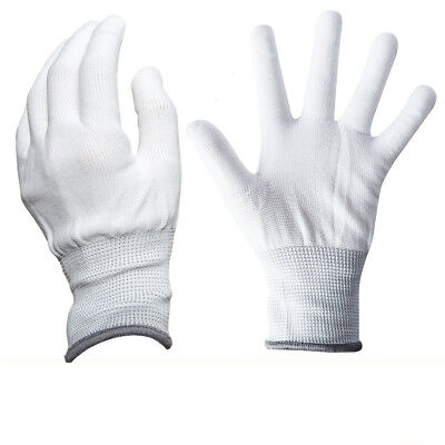 1 Pair White Wrapping Nylon Gloves Dedicate Tools Car Wrap Vinyl Film Stickers