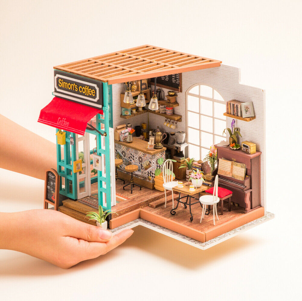 Doll House Accessories Mini Refrigerator Toy Houses Miniatures
