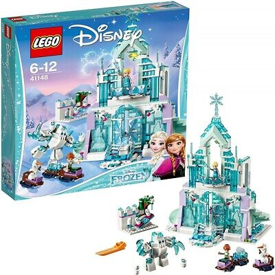 LEGO Disney Princess Frozen Ice Castle Fantasy & Sole Plate Blue 5702015867351