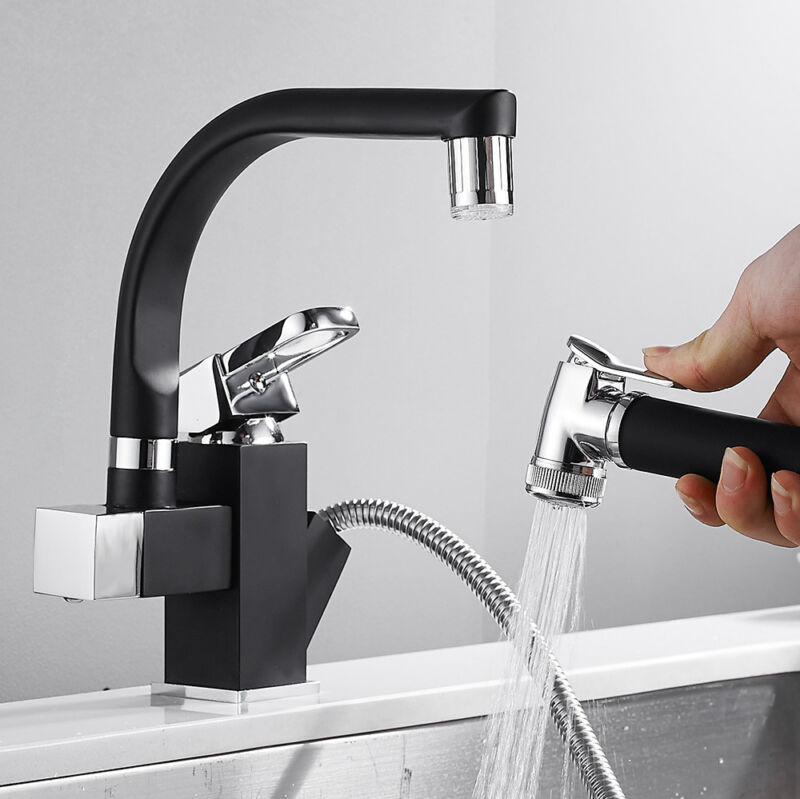 Kitchen Faucet gastronomic Long Sleeve Stainless Steel Sink Fittings Fittings Single Lever Mixer