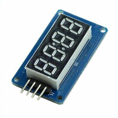 4 Bits Tm1637 Digital Tube Led Clock Display Module For Arduino Due Uno 2560 R3