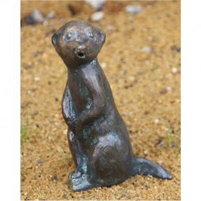 Gargoyle Meerkats Animal Figure New Bronze Water Feature Bronze Figure RO-88898