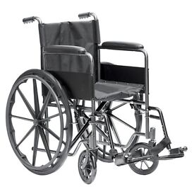 deluxe wheelchair self propelled or can be pushed by assistant brand new still in wraps