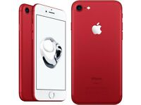 Brand New in Box Apple IPhone 7 Red Limited Edition 128gb