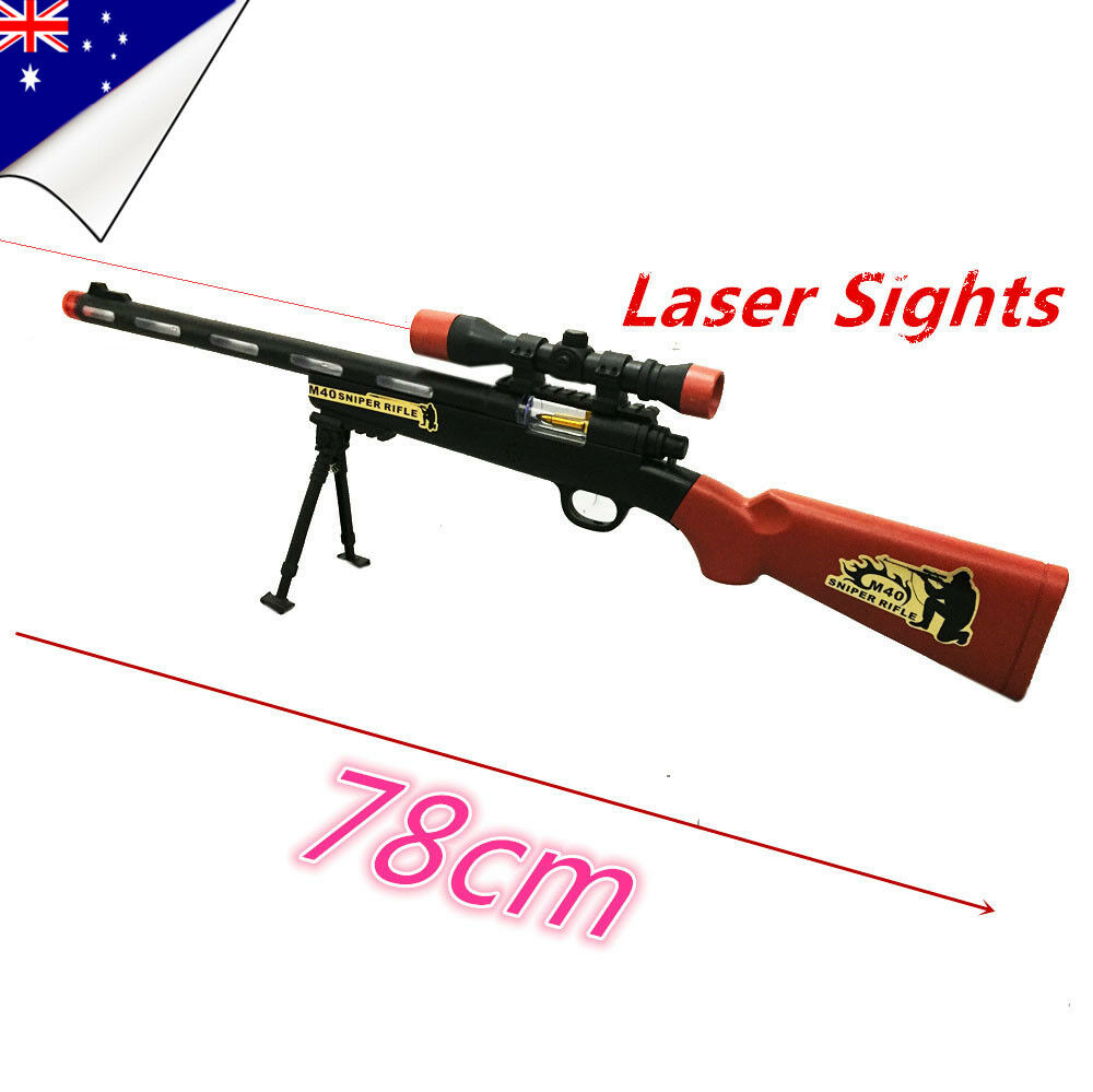 Toy Guns For Boys : Police toy gun battery weapon kids sniper rifle children